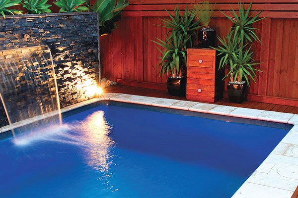 Local Pools and Spas Sydney Plunge Fibreglass Pool