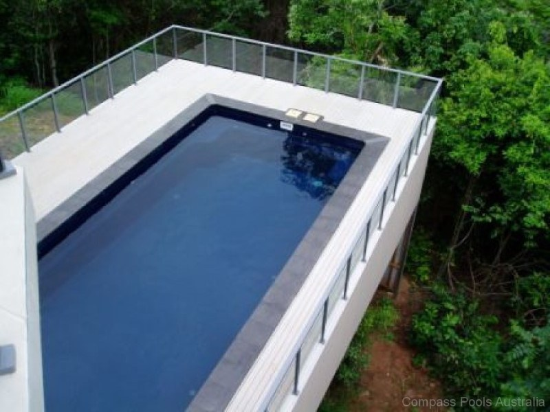 Local Pools and Spas Sydney Above Ground Fibreglass Pools with Maxi Rib 6