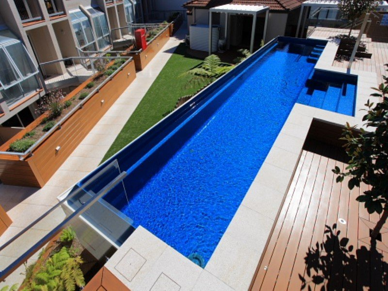 Local Pools and Spas Sydney Fibreglass Pool Builder NSW Compass Pools Fast Lane 1