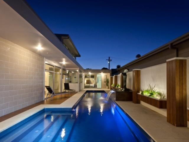 Local Pools and Spas Sydney Fibreglass Pool Builder NSW Compass Pools Fast Lane 4