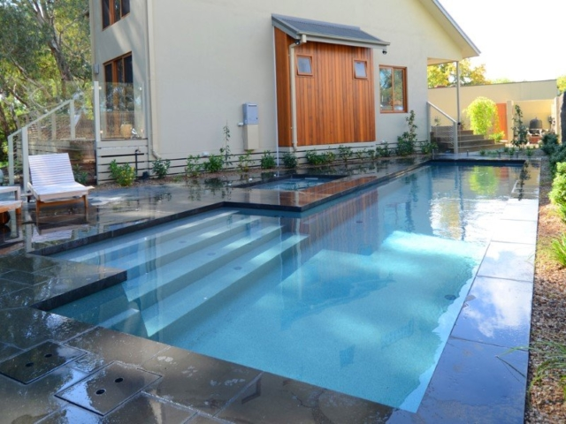 Local Pools and Spas Sydney Fibreglass Pool Builder NSW Compass Pools Fast Lane 8