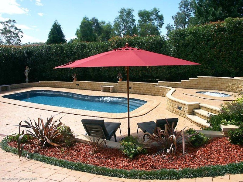 Local Pools and Spas Sydney Fibreglass Pool Builder NSW Compass Pools Riviera 8