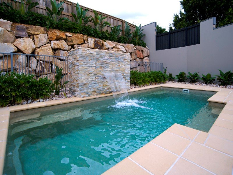 Local Pools and Spas Sydney Fibreglass Pool Builder NSW Compass Pools Vogue 1