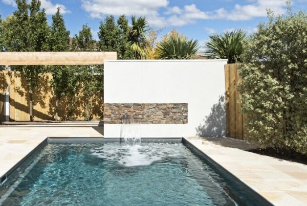Local Pools and Spas Beautiful water features for your swimming pool