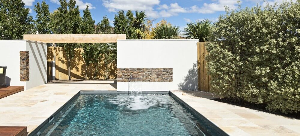 Why install a pool water feature?