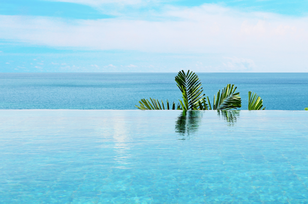 Infinity pool-your little private paradise