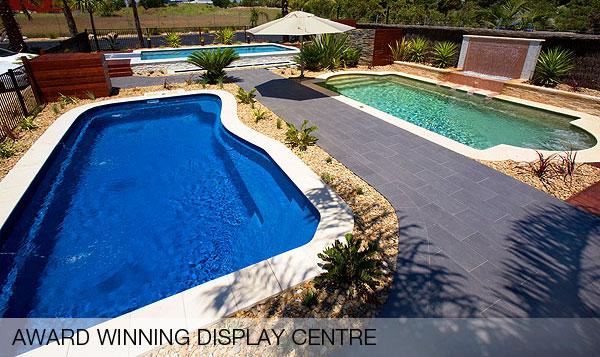 Award winning pool display centre in Narellan Sydney NSW